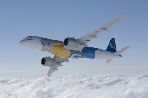 Alcoa signed a $470 million contract with Embraer to supply aluminum sheet and plate for Embraer's new E2 aircraft. (Photo: Business Wire)