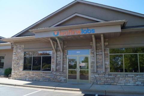 LeafLine Labs Care Center in Eagan, Minn. - one of the company's four Minnesota locations. (Photo: LeafLine Labs)