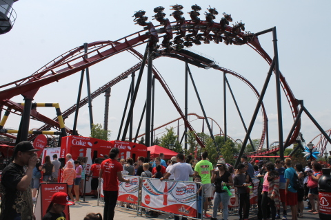 Coca-Cola July 4th Fest at Six Flags (Photo: Business Wire)