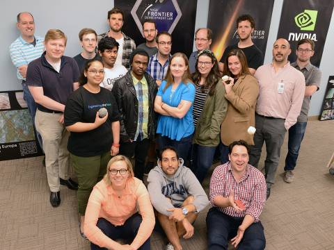 2016 FDL Participants, Mentors and Coaches at the SETI Institute (Photo: Business Wire)