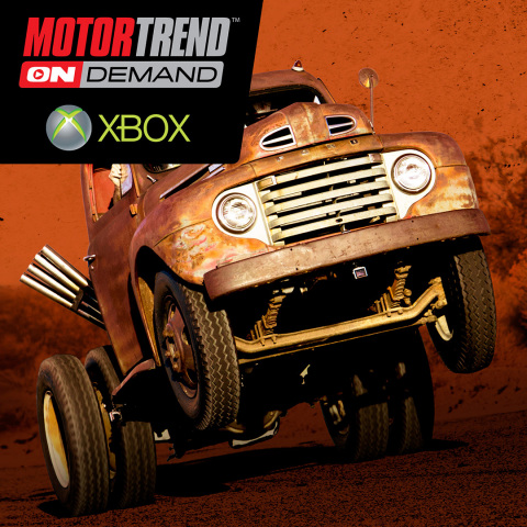 Motor Trend OnDemand is Now Available on Xbox One and Xbox 360. (Graphic: Business Wire)