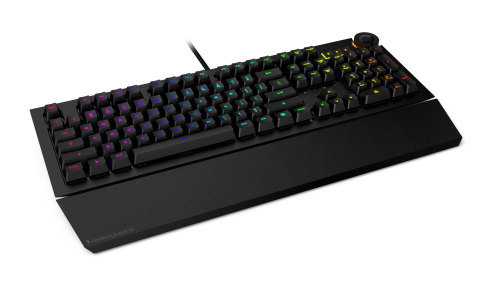 The Das Keyboard 5Q is a cloud-enabled, open API, RGB mechanical keyboard. (Photo: Business Wire)