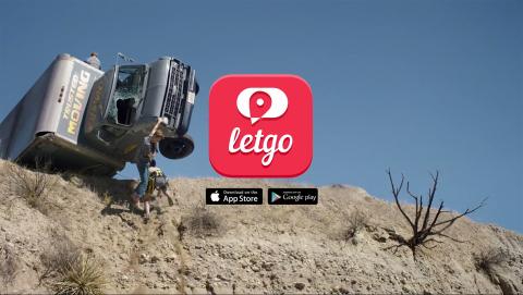 "letgo's award-winning ""Cliff"" TV advertisement (Photo: Business Wire)"