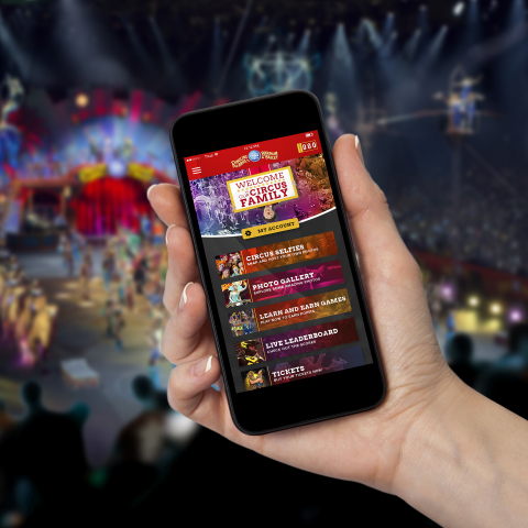 Ringling Bros. announces all new mobile app for its touring shows. (Foto: Business Wire)