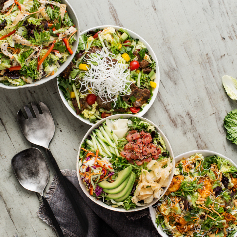 Pei Wei introduces new salads with purpose. (Photo: Business Wire)