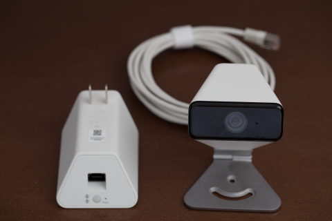 The xCam features a weather resistant seal, 109-degree field of view, high definition video, and infrared night vision. The Wi-Fi signal is routed through the power source instead of the camera, improving the overall range of connection. (Photo: Business Wire)