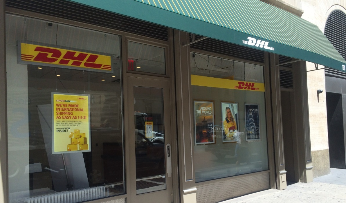 DHL Opens Retail Service Center in New York City | Business Wire