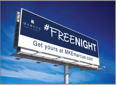 Marcus Hotels & Resorts Giving Away #freenights at Milwaukee hotels (Photo: Business Wire)