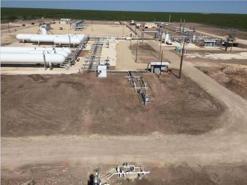 Prism Midstream LLC's Bedrock Liquids Handling Facility in Crockett County, Texas began operations o ...