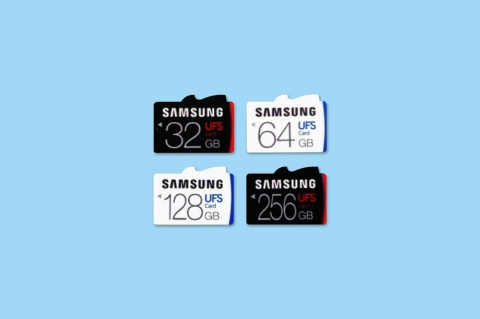 Samsung readies UFS removable storage cards (Graphic: Business Wire)