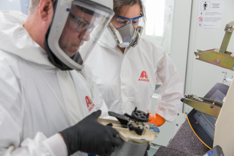 Axalta launches Master Refinish Certification. (Photo: Axalta)
