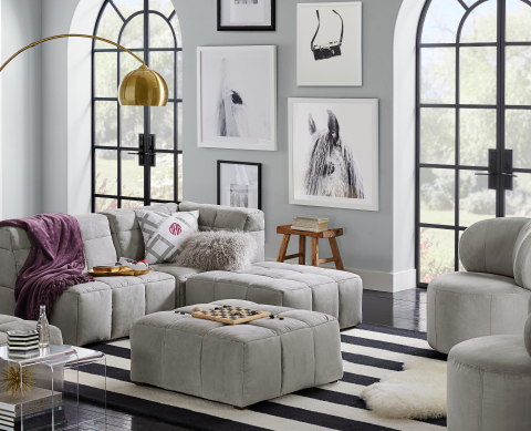 Minted x PBteen Collection, Black and White Gallery Wall (Photo: Business Wire)