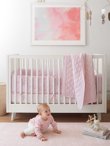 Minted x Pottery Barn Kids Collection, Autumn, No. 1 Clouds by Sylvie Ceres (Photo: Business Wire)