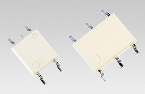 Toshiba: Large-current control photorelays in 2.54SOP4 and 2.54SOP6 small packages (Photo: Business  ...