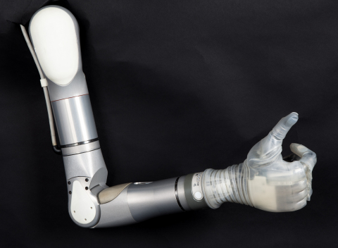The LUKE Arm in the Shoulder Configuration. (Photo: Business Wire)