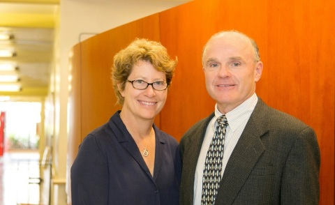 Michele Kipke PhD, and Thomas Buchanan, MD (Photo: Business Wire)