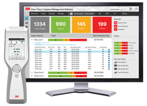 3M™ Clean-Trace™ Hygiene Monitoring and Management System (Photo: 3M)