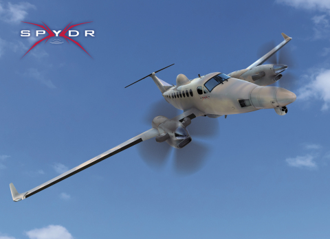The L-3 SPYDR II next-generation tactical ISR aircraft features the L-3-developed Rapid Aircraft Pay ...