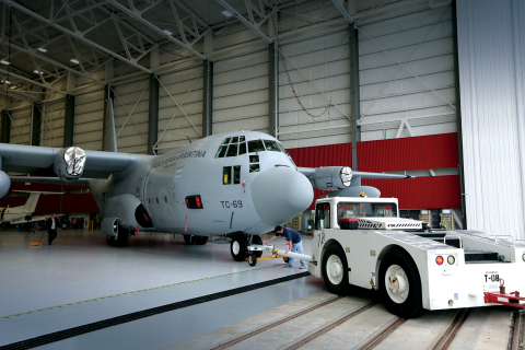 L-3 recently completed the first upgraded C-130 aircraft as part of a U.S. Air Force Foreign Militar ...