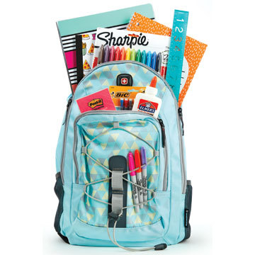 Get 25% off school supplies with a backpack purchase at a Staples store or Staples.com. Valid July 3 - August 13, 2016. (Photo: Business Wire)