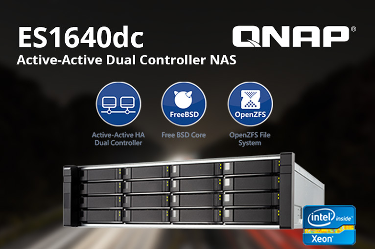 QNAP Now Shipping All New ES Series ZFS NAS Solution