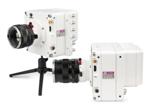The Vision Research Phantom VEO 710 and VEO 340 (Photo: Business Wire)