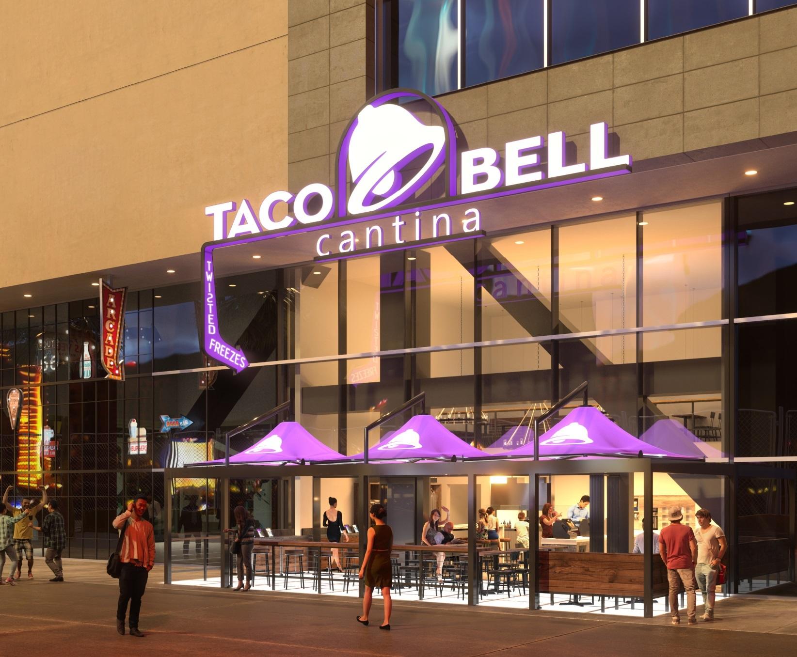 Taco Bell Flagship Restaurant ing to Las Vegas