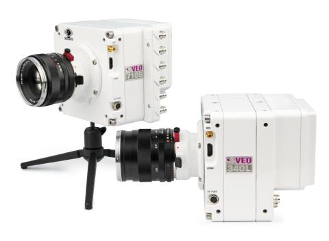 Les Phantom VEO 710 et VEO 340 de Vision Research (Photo : Business Wire)