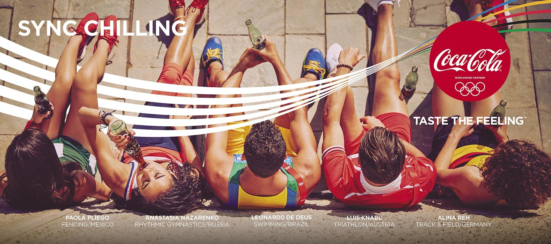 For the Rio 2016 Olympic Games, Coca-Cola is celebrating gold beyond the podium through its #ThatsGold campaign (Photo: Business Wire)