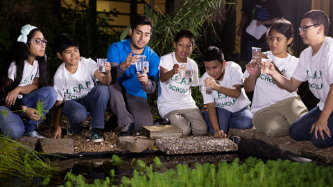 COMMUNITY: In 2015 we continued our engagement with LEAP (Learn, Engage, Advance, Persevere) - a three-year, $4.3 million pilot program aimed at dropout prevention for at-risk middle school students in Houston. Hess is one of five program partners working collaboratively to provide support to students who are English language learners and over age for their grade level. http://www.hess.com/sustainability/communities-social-performance