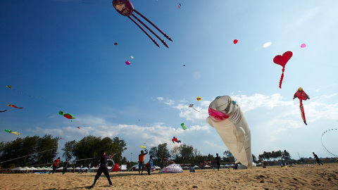 COMMUNITY: Hess led a community campaign, with help from our partner PETRONAS and other industry participants, to increase safety awareness concerning the local pastime of flying traditional wau kites near flight paths helicopters used in oil and gas operations. http://www.hess.com/sustainability/communities-social-performance