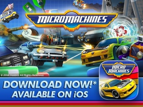 MICRO MACHINES IS BACK AND IT'S BETTER THAN EVER! (Graphic: Business Wire)
