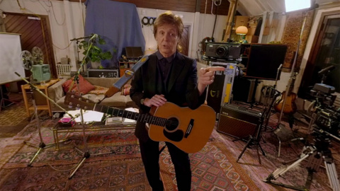 "Step inside Paul McCartney's private home recording studio in ""Mull of Kintyre,"" a Dolby Atmos VR experience in the Jaunt VR app. (Photo: Business Wire)"