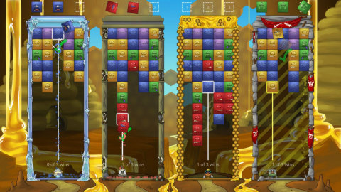 Tumblestone transforms the action-puzzle genre into a deep and cerebral puzzle-solving experience. (Graphic: Business Wire)
