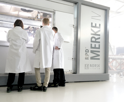 State of New York Releases Funds to Acquire Initial Lot of 20 Norsk Titanium MERKE IV Rapid Plasma Deposition Machines. (Photo: Business Wire)
