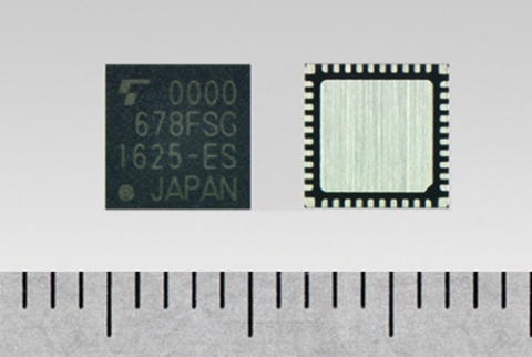 """Toshiba: New IC """"TC35678FSG"""" for Bluetooth(R) Smart devices with industry-leading-class low current consumption (Photo: Business Wire)"""