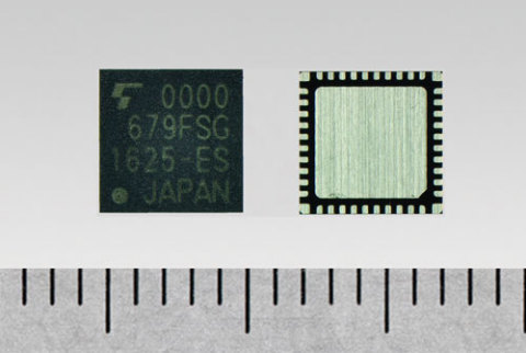"""Toshiba: New IC """"TC35679FSG"""" for Bluetooth(R) Smart devices with industry-leading-class low current consumption (Photo: Business Wire)"""