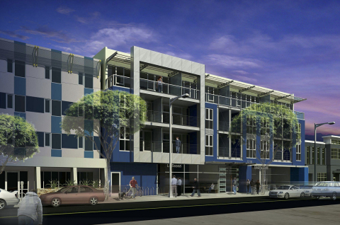 1320 2nd Street, Santa Monica, CA (Graphic: Business Wire)