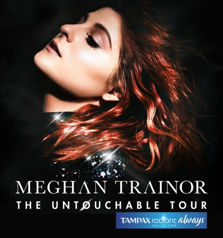 Meghan Trainor Dares to Wear What She Wants for The Untouchable Tour Sponsored by The Radiant Collection (Photo: Business Wire)