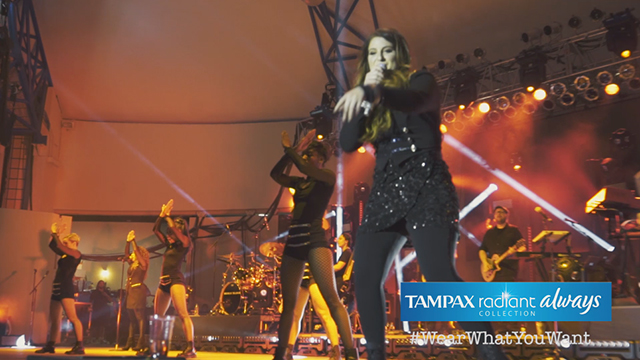 """Grammy-winning Best New Artist Meghan Trainor is teaming up with The Tampax and Always Radiant Collection during her """"Untouchable Tour,"""" to encourage girls to have the confidence to wear what they want all month long. Watch for behind-the-scenes access and follow along with #WearWhatYouWant."""