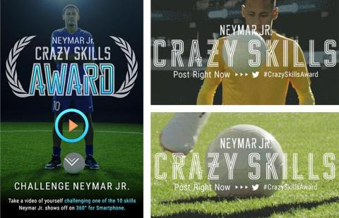 A worldwide search for players to appear with Neymar Jr. in a special movie (Photo: Business Wire)