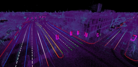 Civil Maps' scalable map generation process combines 3D Imaging and Artificial Intelligence to convert sensor data into meaningful map information to direct fully autonomous vehicles. (Photo: Business Wire)