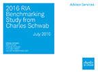 Results from the 2016 RIA Benchmarking Study from Charles Schwab.