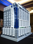 North Point Hospitality, an Atlanta based hotel development and management company, has broken ground on the first tri-branded Marriott Hotel in the U.S.; and unveiled an original 300-pound model of the hotel made with 63,636 LEGO bricks. The commissioned model is designed by award-winning master artist Sean Kenney. (Photo: Business Wire)