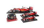 Amalgam Collection, a Motorsport Network company, today announced its exclusive line of Scuderia Ferrari SF16-H creations at 1:4, 1:8 and 1:12 scale, and a full-size recreation of the car's steering wheel. (Photo: Business Wire)