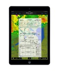 Jeppesen chart overlay within the Garmin Pilot app (Photo: Business Wire)