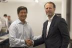 Yulun Wang and Joseph DeVivo (Photo: Business Wire)