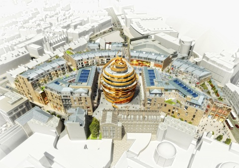 A rendering of the forthcoming W Edinburgh (Graphic: Business Wire)