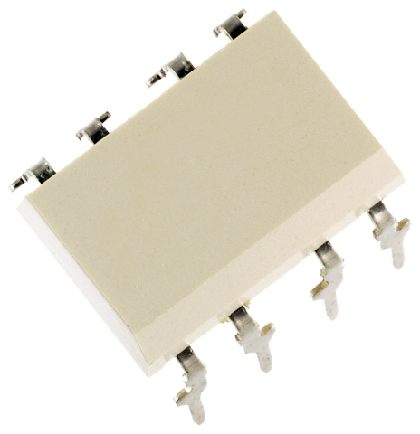 "Toshiba: DIP8 package 5A Drive Current Photorelay ""TLP3547"" (Photo: Business Wire)"