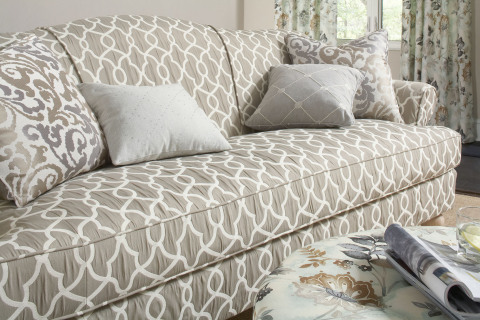 One of the 30 unique fabrics from the Kelly Ripa Home fabric collection, exclusively at Jo-Ann stores and joann.com (Photo: Business Wire)